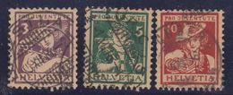 Switzerland 1916 Pro Juventute 3v Used (42173) - Pro Juventute