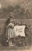 PETITE FILLE  BONNE FETE - Enfants