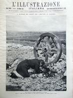 L'Illustrazione Italiana 30 Ottobre 1921 Nazario Sauro Cimiteri Guerra De Carli - Libri, Riviste, Fumetti