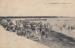17 - La Rochelle - La Plage - Très Beau Cliché Animé - La Rochelle