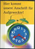 """Germany 1999 Ganzsache Deutsche Post,Postfach Mi.PEK 3""""Postfach-Mitteilungskarte,Abo Aufl. """"1 GS Used,unten Gezähnt - Post"""