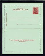 Serbie - 1911 - Entier Postal Neuf 10 P. Pierre 1er - B/TB - - Serbia