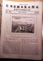 1837 COSMORAMA PITTORICO ANNO TERZO N° 10 ROMA ZARA NAPOLI MICCA RUSSIA PALMA Fascicolo Di 8 Pagine – Cm 19,5 X 27,5 Tra - Libri, Riviste, Fumetti