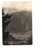 M8039 VENETO CALALZO E SPALTI DI TORO Belluno 1957 VIAGGIATA Manca Francobollo - Italia
