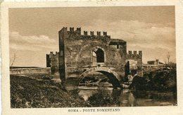 PONTE NOMENTANO. ROMA, ITALIA / ITALY. POSTAL UN CIRCULATED CPA- LILHU - Ponts