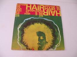 Hair (comédie Musicale) 1968 - (Titres Sur Photos) - Vinyle 33 T LP - Collectors
