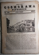 1837 COSMORAMA PITTORICO ANNO TERZO N° 19 EMS MILANO API Fascicolo Di 8 Pagine – Cm 19,5 X 27,5 Tracce D'uso E Di Restau - Libri, Riviste, Fumetti