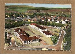 CPSM - INGWILLER (67) - Vue Aérienne Du Quartier Des Ecoles Dans Les Années 60 - Carte Colorisée - France
