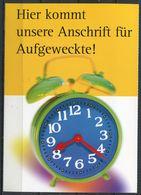 """Germany 1999 Ganzsache Deutsche Post,Postfach Mi.PEK 3""""Postfach-Mitteilungskarte,Abo Aufl. """"1 GS Blanco,oben Gezähnt - Post"""