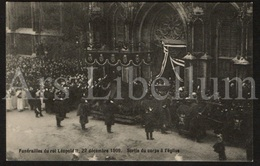 10 Postcards / ROYALTY / Belgique / België / Koning Leopold II / Roi Leopold II / King Leopold II / Funérailles / 1909 - Koninklijke Families