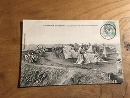 283/ Casablanca CAMPEMENT DES TIRAILLEURS ALGERIENS - Casablanca