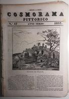 1837 COSMORAMA PITTORICO ANNO TERZO N° 47 COSACCHI GRANDVILLE VITTORINO DA FELTRE IENA Fascicolo Di 8 Pagine – Cm 19,5 X - Libri, Riviste, Fumetti