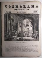1837 COSMORAMA PITTORICO ANNO TERZO N° 51 BETLEMME TREMEZZINA HAYEZ CAMMELLO Fascicolo Di 8 Pagine – Cm 19,5 X 27,5 Trac - Libri, Riviste, Fumetti