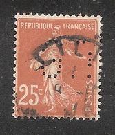 Perforé/perfin/lochung France No 235 G.T  Gamot Et Fils - France