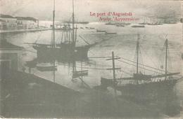 "GRECE - Le Port D'Argostoli - Faute Dans Le Title  ""ASGOSTOLI "" - Grèce"