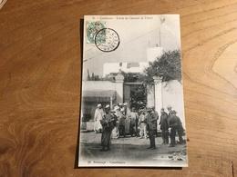 283/  CASABLANCA ENTREE DU CONSULAT DE FRANCE - Casablanca