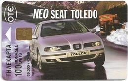 Greece - Car Seat Toledo 7 - X0712 - 03.1999 - 39.000ex, Used - Grecia