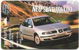 Greece - Car Seat Toledo 9 - X0714 - 03.1999 - 39.000ex, Used - Greece