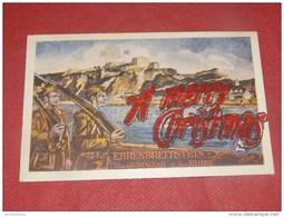 "MILITARIA - EHRENBREITSTEIN - KOBLENZ - The Gibraltar Of The Rhine - "" A Merry Christmas "" - - Militaria"