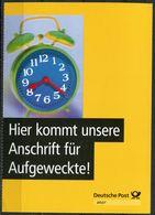 """Germany 1999 Ganzsache Deutsche Post,Postfach Mi.PEK 4 """"Postfach-Mitteilungskarte,Brief Aufl. """"1 GS Blanco,oben Gezähnt - Post"""