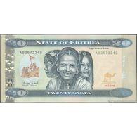 TWN - ERITREA 12 - 20 Nakfa 24.5.2012 Prefix AB UNC - Eritrea