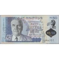 TWN - MAURITIUS 65 - 50 Rupees 2013 Polymer - Prefix JH UNC - Mauritius