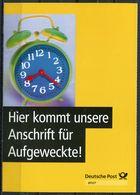 """Germany 2000 Ganzsache Deutsche Post,Postfach Mi.PEK 4 """"Postfach-Mitteilungskarte,Brief Aufl.""""1 GS Used,,unten Gezähnt - Post"""