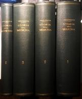1850/1866 STORIA DELLA MEDICINA PUCCINOTTI PUCCINOTTI FRANCESCO STORIA DELLA MEDICINA Opera In 4 Volumi Stampati Dall'ed - Libri, Riviste, Fumetti