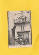 CPA 84  SAULT MAISON GENIN TAILLEUR RUE HOTEL DE VILLE DEVANTURE PEU COURANTE - France