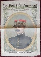JOURNAL LE PETIT JOURNAL 4 NOVEMBRE 1917 GENERAL DE LARDEMELLE L'IDYLLE AUX PAYS RECONQUIS - Giornali