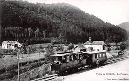 88. VOSGES - Vallée De CELLES. La Fauvette. Tramway à L'arrêt. BPlan. - France