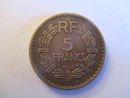 5 Francs 1946 Bronze-alu (rare) - France