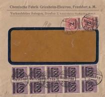 DR Brief Mif Minr.10x 289,2x 309A Breslau 10.10.23 - Briefe U. Dokumente