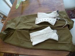 Pantalon US WW2 Plus Guêtres Pièces Authentique ! - Uniformes