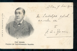 South Africa - Cape Town - Zuid Afrika - Kaapstad - Paul Kruger - President - 1900 - Zuid-Afrika