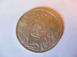 Australie: 50 Cents 1966 (silver) - Monnaie Décimale (1966-...)