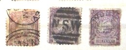 1888 NSW Commemorative Of Sydney. - Used Stamps
