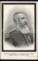 Rouwkaart / Postcard / CPA / ROYALTY / Belgique / België / Koning Leopold II / Roi Leopold II / King Leopold II / Unused - Koninklijke Families