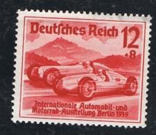 1939 17. Feb. Nürburg Rennen Mi DR 687 Sn DE B135 Yt DR 628,Sg DR 6754 Mit Gummierung Mit Falz - Germania