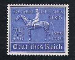 1939 18. Juni Mi DR 698 Sn DE B144 Yt DR 637 Sg DR 686 Mit Gummierung Und Falz - Germania
