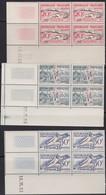 France  .   Yvert    .    960/965  Blocs De 4  (2 Scans)     .   **  .    Neuf  SANS  Charniere  .   /   .    MNH - Unused Stamps