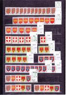 ARMOIRIES / UN LOT DE 328 TIMBRES NEUFS ** , NEUFS *, NEUFS SANS GOMME POUR GROSSISTE AU  1 1/10° DE LA COTE Y ET T 2015 - Autres
