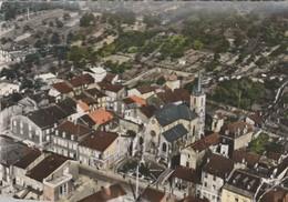 CPSM   57 ROSSALANGE VUE AERIENNE QURTIER DE L'EGLISE - France