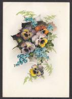 93429/ FLEURS, Illustration, Pensées Et Myosotis - Bloemen