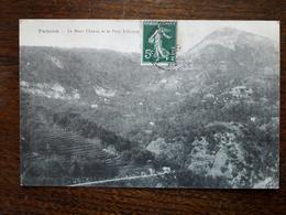Falicon. Le Mont Chauve Et Le Petit Faliconet - France