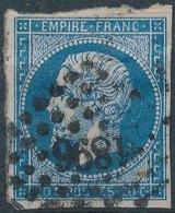 1854 - No Mi 13, Yt 14 -  20 C - Oblitere - 1853-1860 Napoleon III