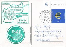 Germany 2002 Feldpost 1371 Kabul Camp Warehouse ISAF Afghanistan Military Postcard - Militares