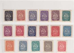 Portugal- 1943   Caravela Novos Com Charneira - Lotes & Colecciones