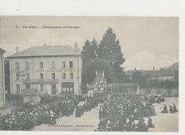 88 VAL D AJOL PROCESSION DE LA FETE DIEU CPA BON ETAT - France