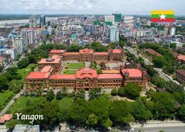 Myanmar Yangon Aerial View Burma New Postcard - Myanmar (Burma)